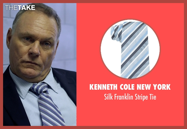 Kenneth Cole New York blue tie from Need for Speed seen with Antoni Corone (Detective #2)
