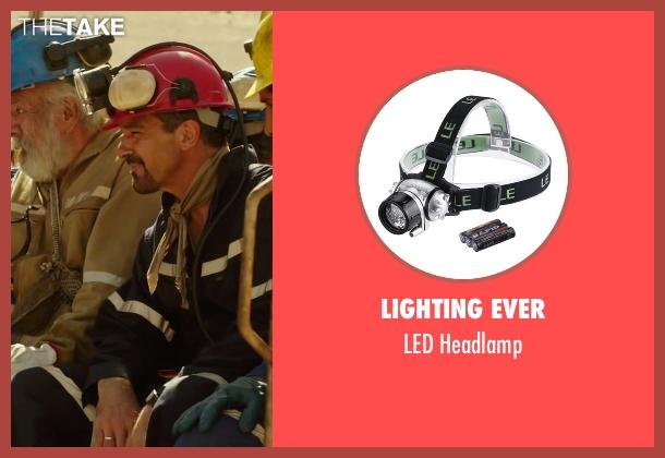 Lighting Ever headlamp from The 33 seen with Antonio Banderas (Mario Sepúlveda)