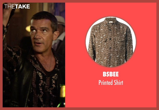 Bsbee brown shirt from The Expendables 3 seen with Antonio Banderas (Galgo)