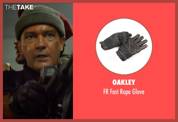 Oakley glove from The Expendables 3 seen with Antonio Banderas (Galgo)