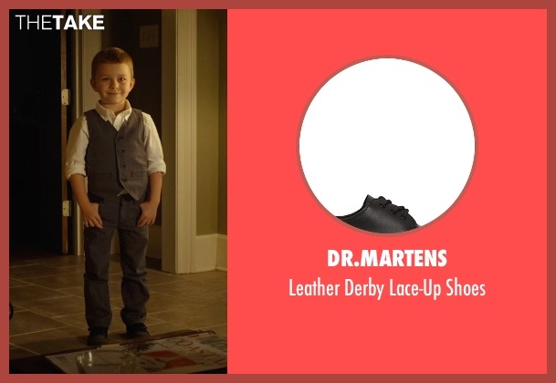 Dr.Martens black shoes from Before I Wake seen with Antonio Evan Romero (Sean)