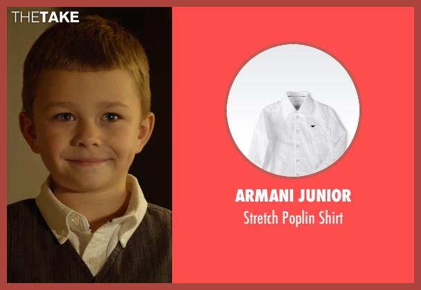 Armani Junior white shirt from Before I Wake seen with Antonio Evan Romero (Sean)