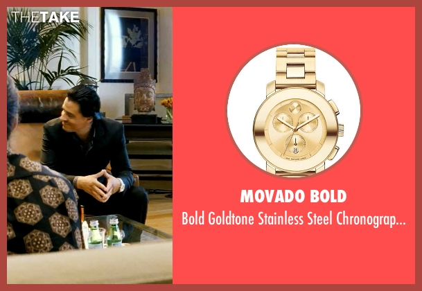 Movado Bold gold watch from Savages seen with Antonio Jaramillo (Jaime)