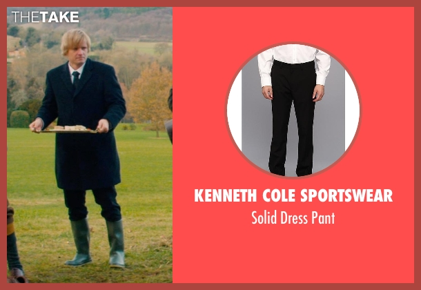 Kenneth Cole Sportswear black pant from Mortdecai seen with Antti Hakala (Servant)
