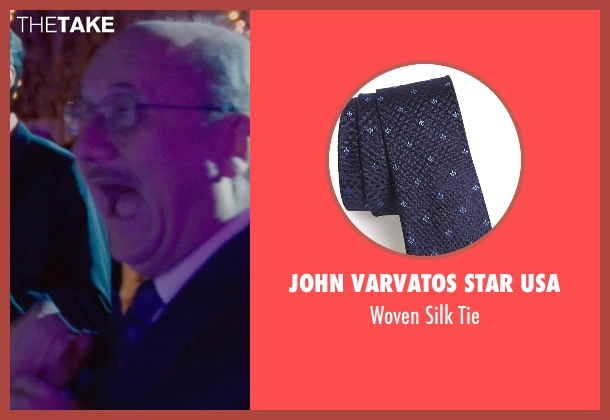 John Varvatos Star USA tie from Silver Linings Playbook seen with Anupam Kher (Dr. Cliff Patel)
