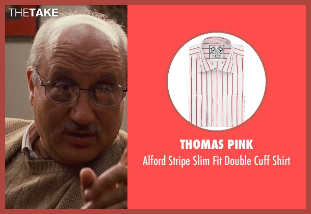 Thomas Pink white shirt from Silver Linings Playbook seen with Anupam Kher (Dr. Cliff Patel)