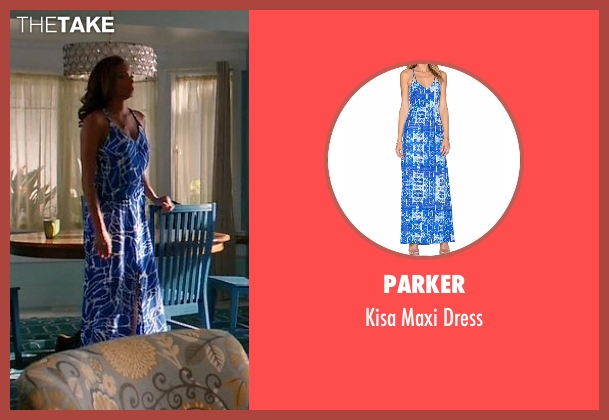 Parker blue dress from Mistresses seen with April Malloy (Rochelle Aytes)