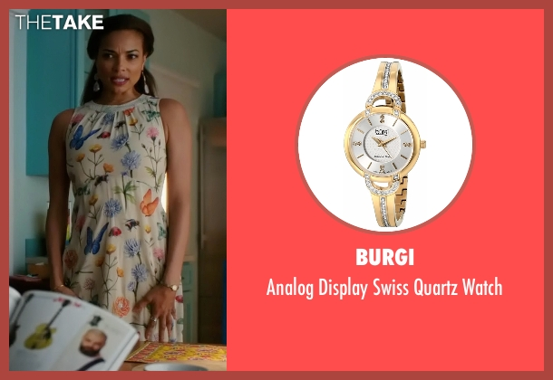 Burgi gold watch from Mistresses seen with April Malloy (Rochelle Aytes)