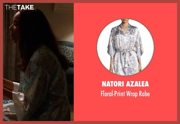 Natori Azalea robe from Mistresses seen with April Malloy (Rochelle Aytes)