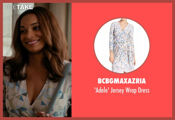 BCBGmaxazria white dress from Mistresses seen with April Malloy (Rochelle Aytes)