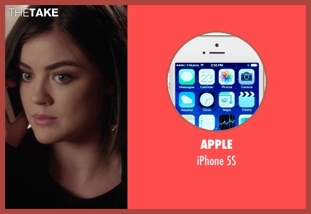 Apple 5s from Pretty Little Liars seen with Aria Montgomery (Lucy Hale)