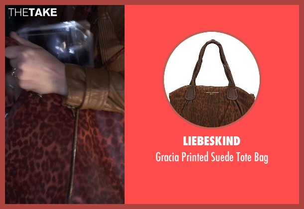 Liebeskind bag from Pretty Little Liars seen with Aria Montgomery (Lucy Hale)