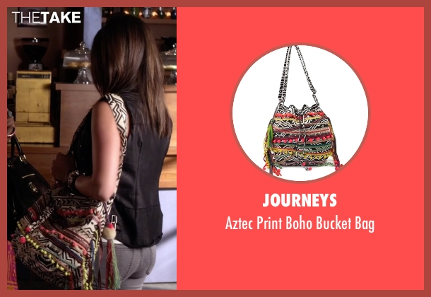 Journeys bag from Pretty Little Liars seen with Aria Montgomery (Lucy Hale)