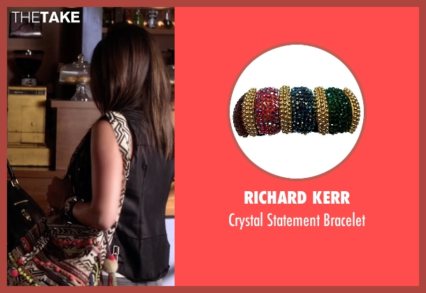 Richard Kerr bracelet from Pretty Little Liars seen with Aria Montgomery (Lucy Hale)