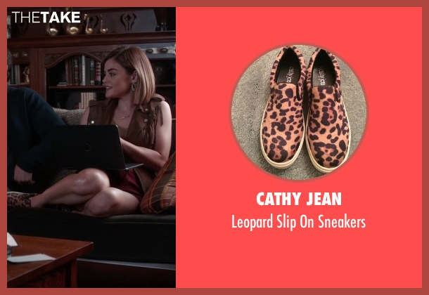 Cathy Jean brown sneakers from Pretty Little Liars seen with Aria Montgomery (Lucy Hale)