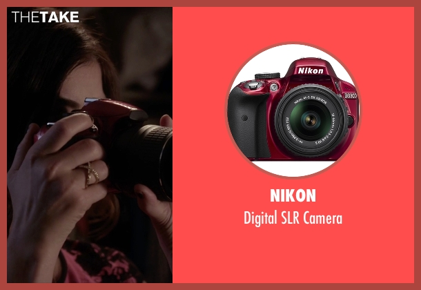 Nikon camera from Pretty Little Liars seen with Aria Montgomery (Lucy Hale)