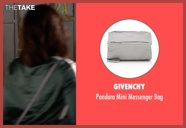 Givenchy  gray bag from Pretty Little Liars seen with Aria Montgomery (Lucy Hale)