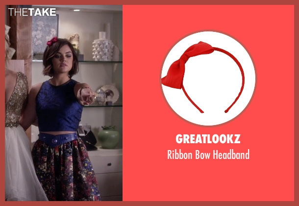 Greatlookz headband from Pretty Little Liars seen with Aria Montgomery (Lucy Hale)