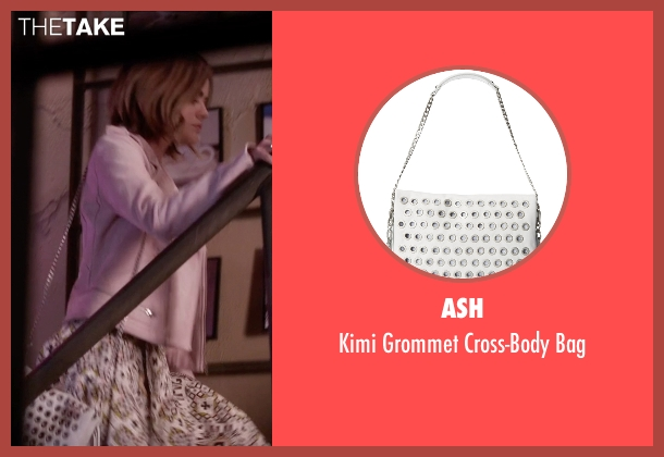 Ash white bag from Pretty Little Liars seen with Aria Montgomery (Lucy Hale)