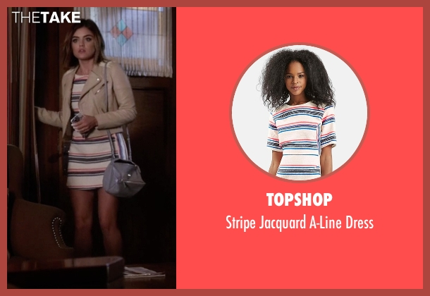 Topshop white dress from Pretty Little Liars seen with Aria Montgomery (Lucy Hale)