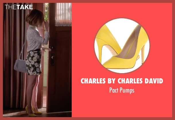 Charles by Charles David yellow pumps from Pretty Little Liars seen with Aria Montgomery (Lucy Hale)