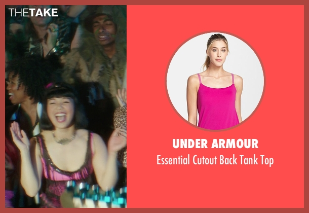 Under Armour pink top from If I Stay seen with Arielle Tuliao (Astrid)