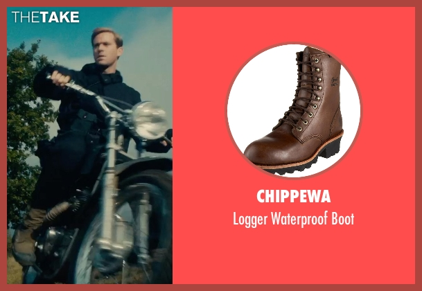 Chippewa brown boot from The Man from U.N.C.L.E. seen with Armie Hammer (Illya Kuryakin)