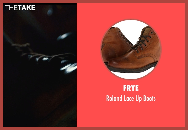 Frye brown boots from The Man from U.N.C.L.E. seen with Armie Hammer (Illya Kuryakin)