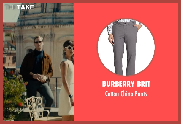 Burberry Brit gray pants from The Man from U.N.C.L.E. seen with Armie Hammer (Illya Kuryakin)