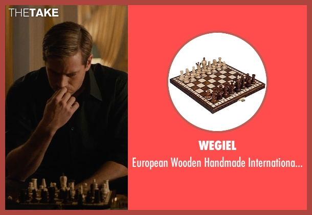 Wegiel set from The Man from U.N.C.L.E. seen with Armie Hammer (Illya Kuryakin)