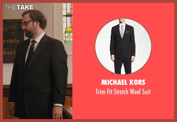 Michael Kors black suit from Master of None seen with Arnold  (Eric Wareheim)