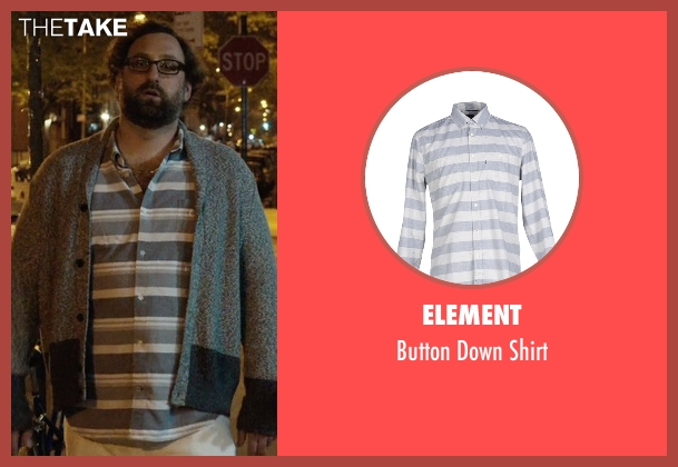 Element gray shirt from Master of None seen with Arnold  (Eric Wareheim)