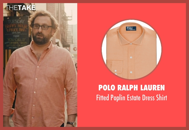 Polo Ralph Lauren orange shirt from Master of None seen with Arnold  (Eric Wareheim)