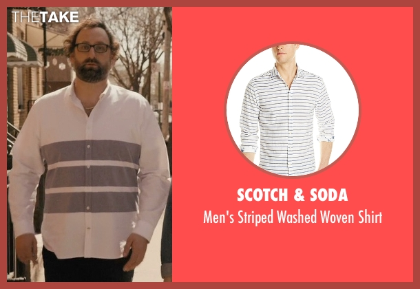 Scotch & Soda white shirt from Master of None seen with Arnold  (Eric Wareheim)