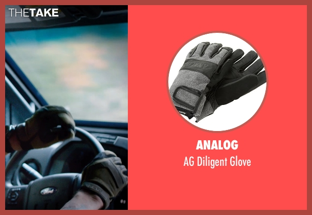 Analog gray glove from Sabotage seen with Arnold Schwarzenegger (John 'Breacher' Wharton)
