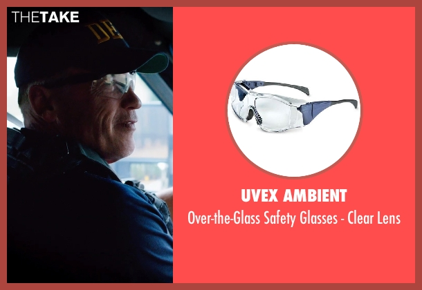 Uvex Ambient lens from Sabotage seen with Arnold Schwarzenegger (John 'Breacher' Wharton)