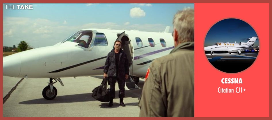 Cessna cj1+ from The Expendables 3 seen with Arnold Schwarzenegger (Trench)