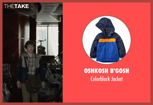 Oshkosh B'gosh blue jacket from San Andreas seen with Art Parkinson (Ollie)