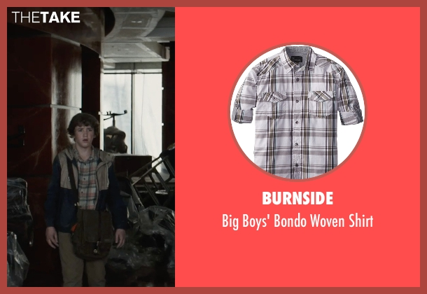 Burnside gray shirt from San Andreas seen with Art Parkinson (Ollie)