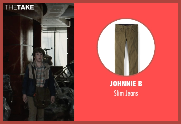 Johnnie B jeans from San Andreas seen with Art Parkinson (Ollie)