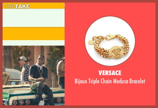 Versace bracelet from Dope seen with ASAP Rocky (Dom)