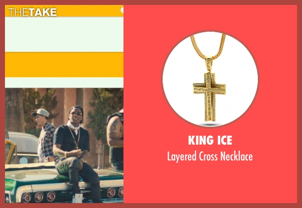 King Ice gold necklace from Dope seen with ASAP Rocky (Dom)