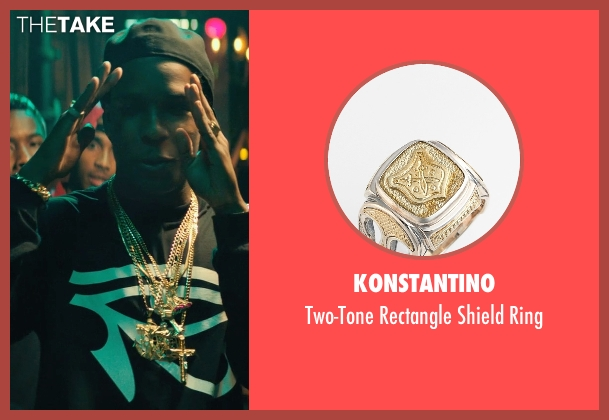 Konstantino ring from Dope seen with ASAP Rocky (Dom)
