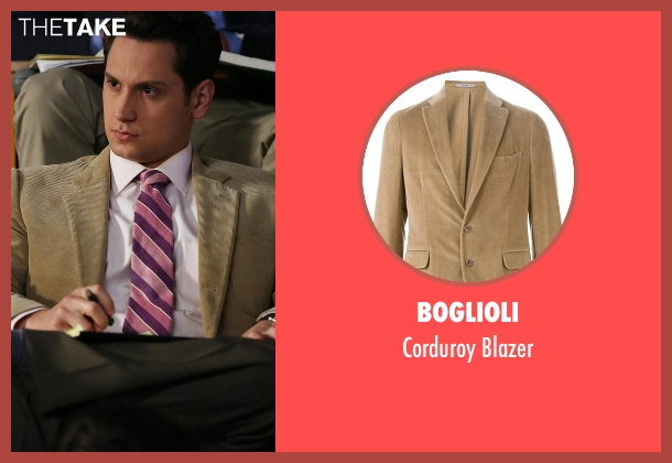 Boglioli beige blazer from How To Get Away With Murder seen with Asher Millstone (Matt McGorry)