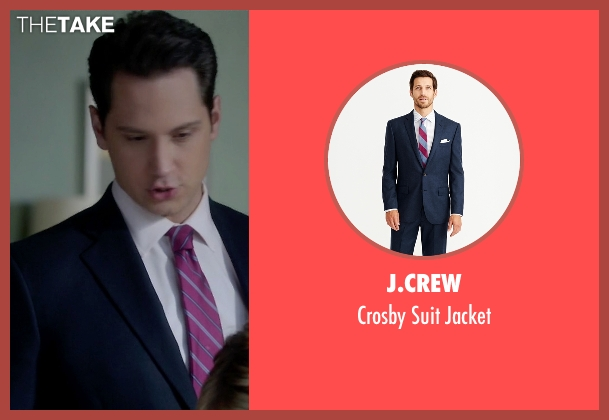 J.Crew blue jacket from How To Get Away With Murder seen with Asher Millstone (Matt McGorry)