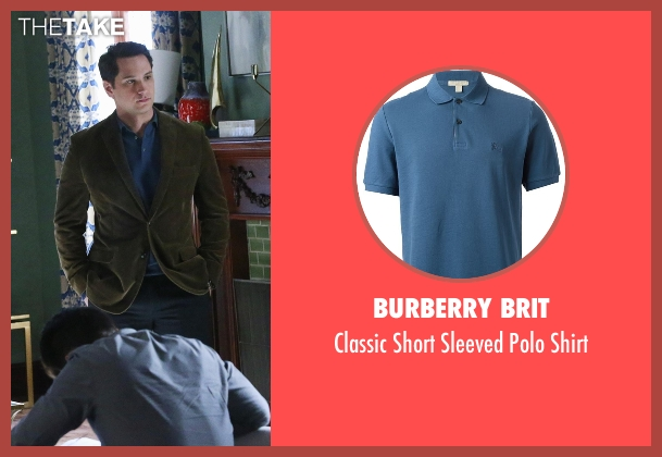 Burberry Brit blue shirt from How To Get Away With Murder seen with Asher Millstone (Matt McGorry)