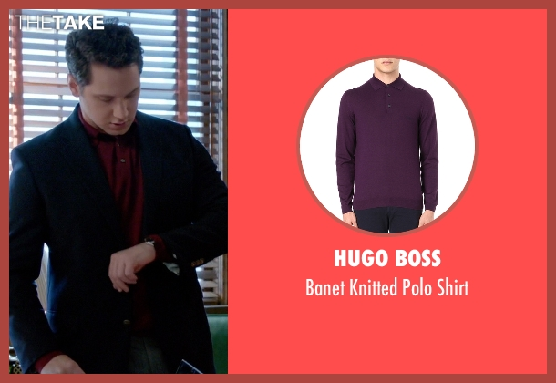 Hugo Boss purple shirt from How To Get Away With Murder seen with Asher Millstone (Matt McGorry)