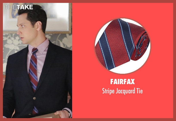 Fairfax red tie from How To Get Away With Murder seen with Asher Millstone (Matt McGorry)