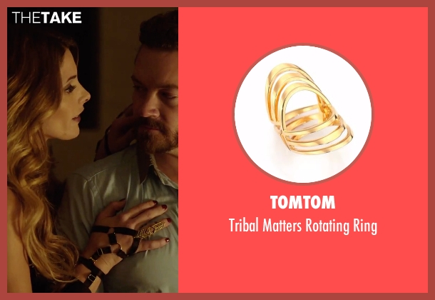Tomtom gold ring from Urge seen with Ashley Greene (Theresa)