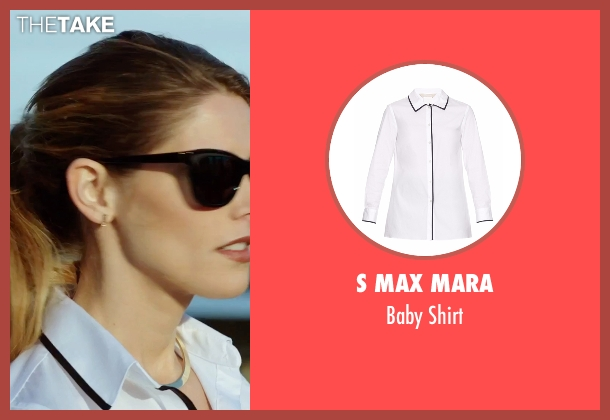 S Max Mara white shirt from Urge seen with Ashley Greene (Theresa)